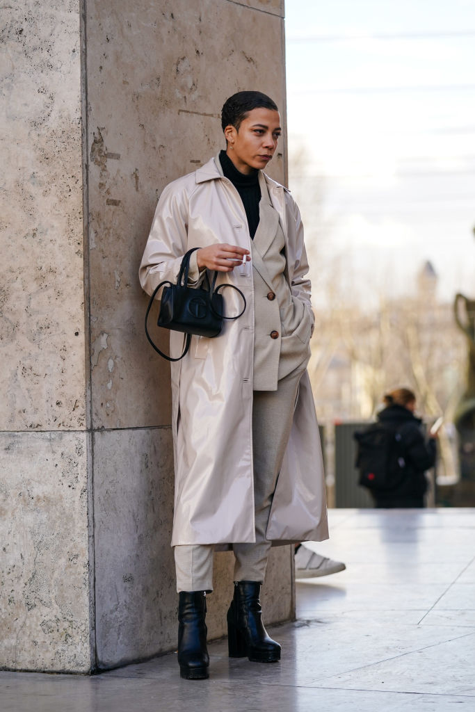 Street Style - Paris Fashion Week - Menswear F/W 2020-2021 : Day Five