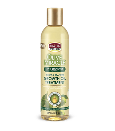 African Pride Olive Miracle Anti-Breakage Oil