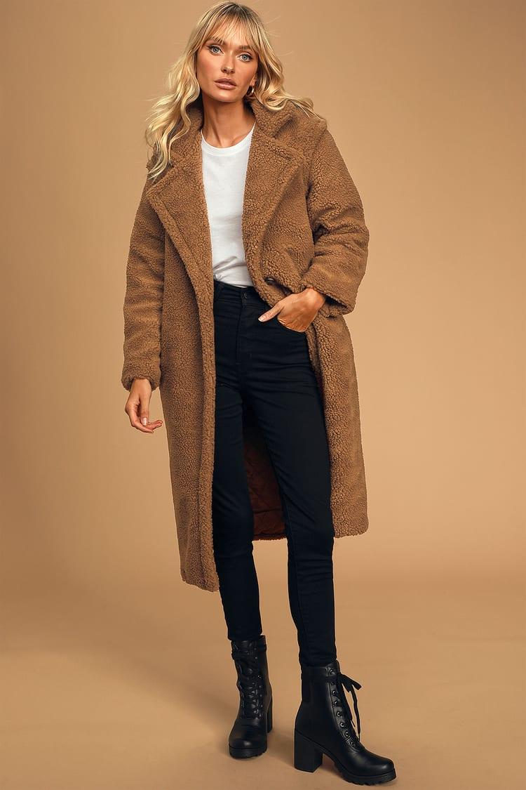 Lulus teddy coat