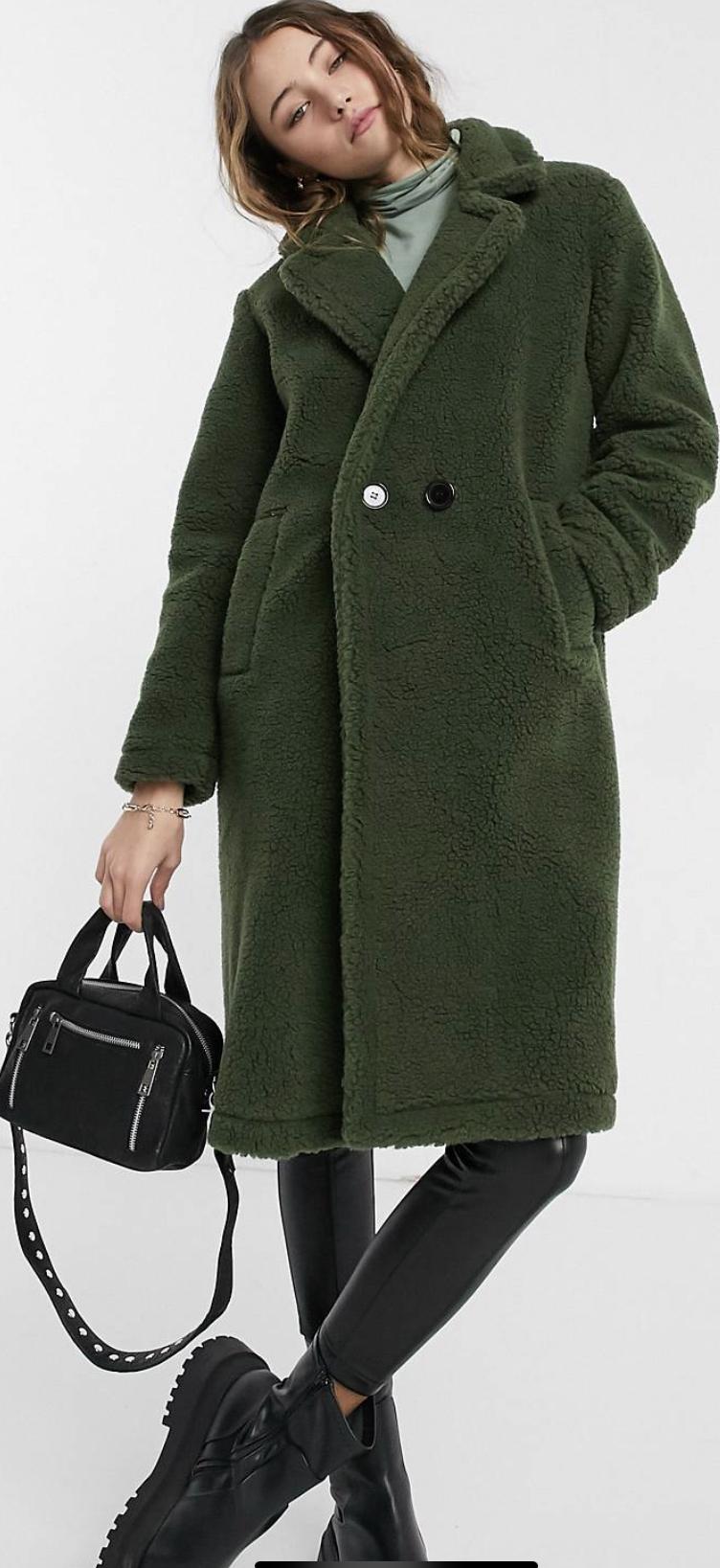 Asos Teddy coat