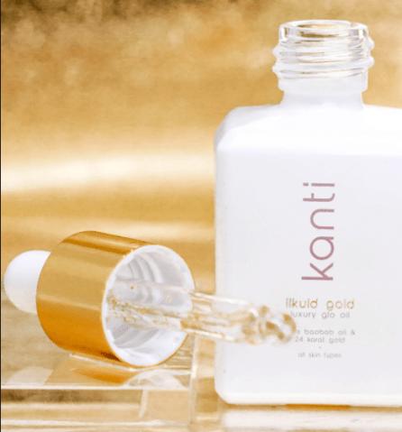 Kanti Likuid Gold Luxury Glo Oil