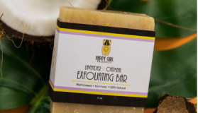 Happy Girl Products Lavender and Oatmeal Exfoliating Bar
