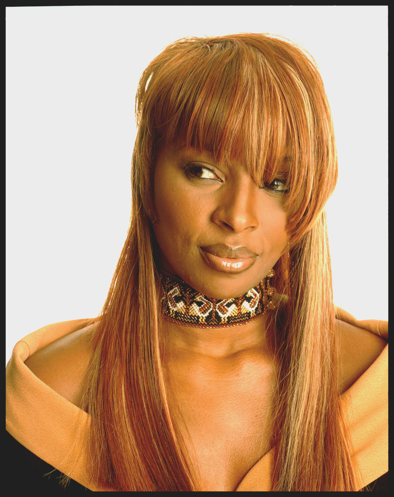 Portrait Of Mary J. Blige