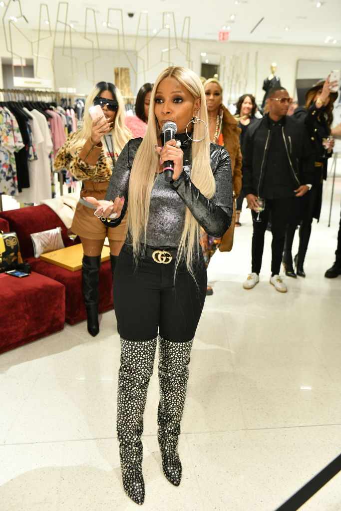 Fashion Photographer Robert Ector Hosts Details Book Signing And Meet & Greet With Mary J. Blige At Saks Fifth Avenue...