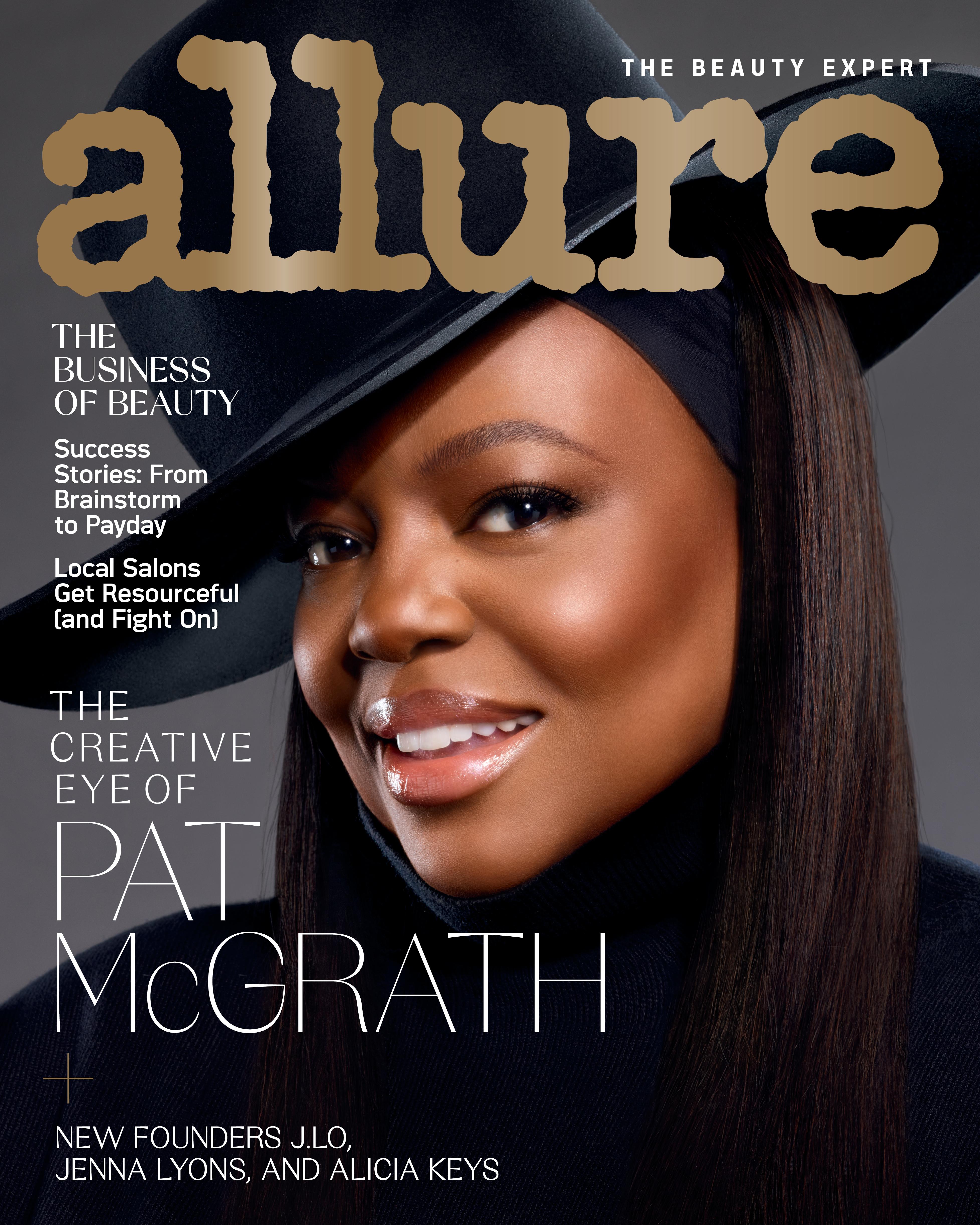Pat McGrath Allure Cover February Cover