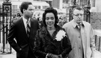 Coretta Scott King Speaks At Boston University