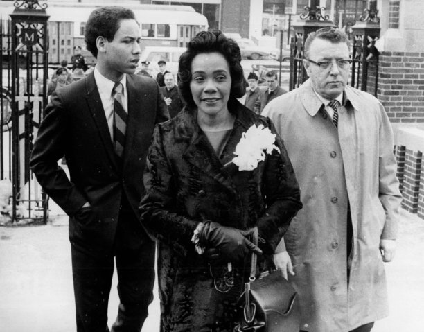 Coretta Scott King Speaks At Boston University