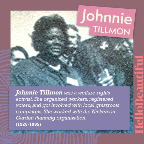 Johnnie tillmon
