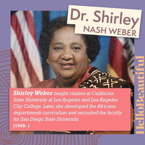 Shirley Nash Weber