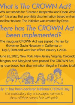 Crown Act Infographic