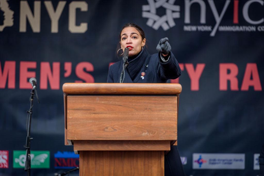 Congresswoman Alexandria Ocasio-Cortez - In celebration of...