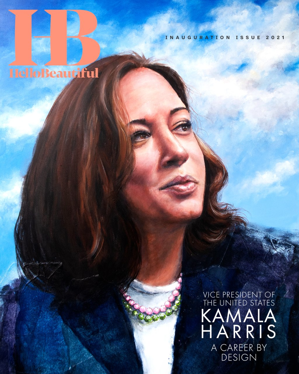HelloBeautiful Inauguration Issue 2021 - COVER