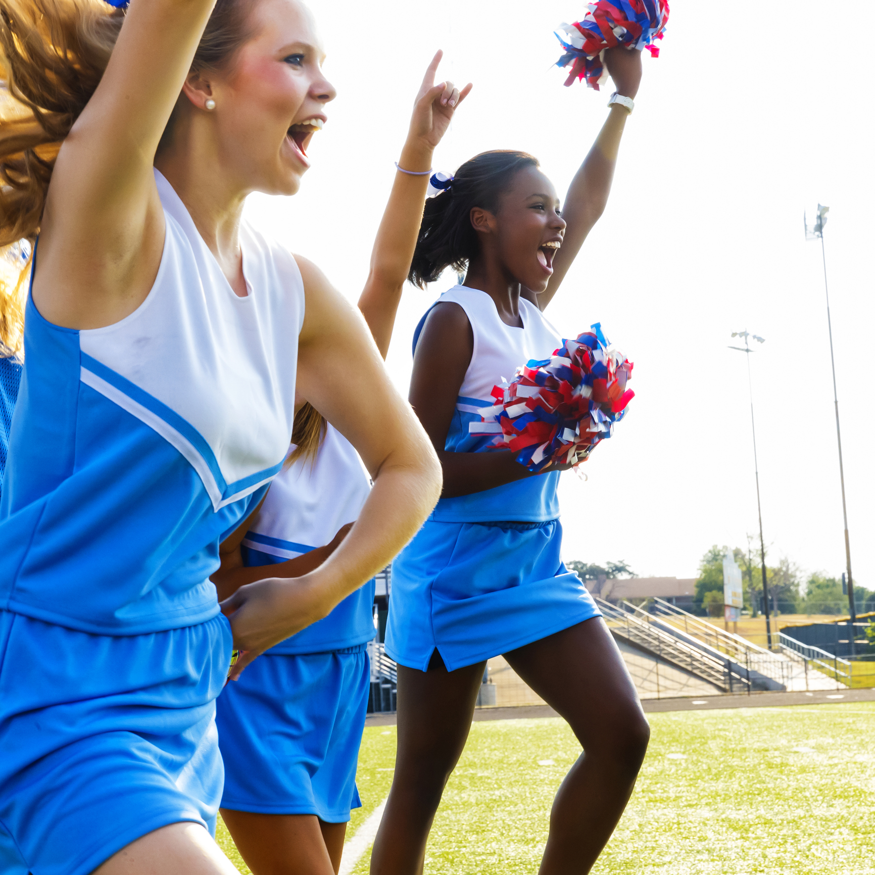 Football Cheerleaders