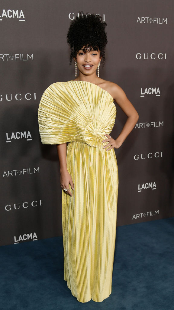 YARA SHAHIDI AT THE LACMA ART + FILM GALA, 2019