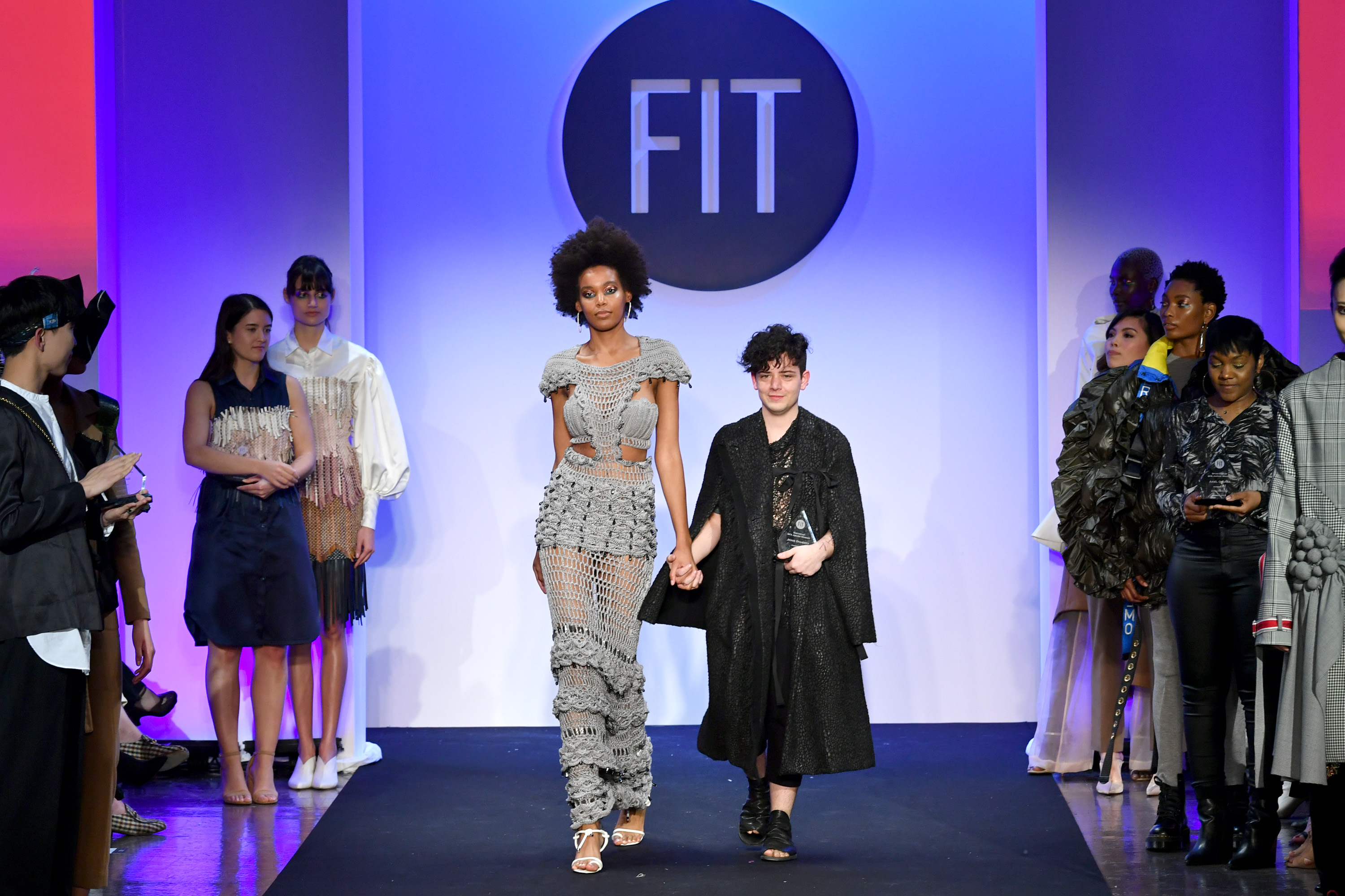 2019 Future Of Fashion Runway Show At The Fashion Institute Of Technology