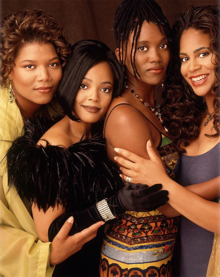 QUEEN LATIFAH AND THE LIVING SINGLE CAST
