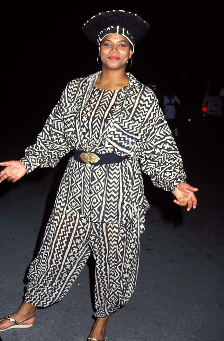QUEEN LATIFAH AT THE 1990 MTV VIDEO MUSIC AWARDS