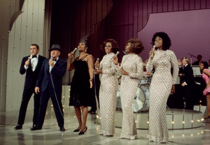 Tony Bennett, Jimmy Durante, Pearl Bailey, the Supremes Performing On 'The Pearl Bailey Show'