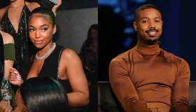 Lori Harvey and Michael B. Jordan