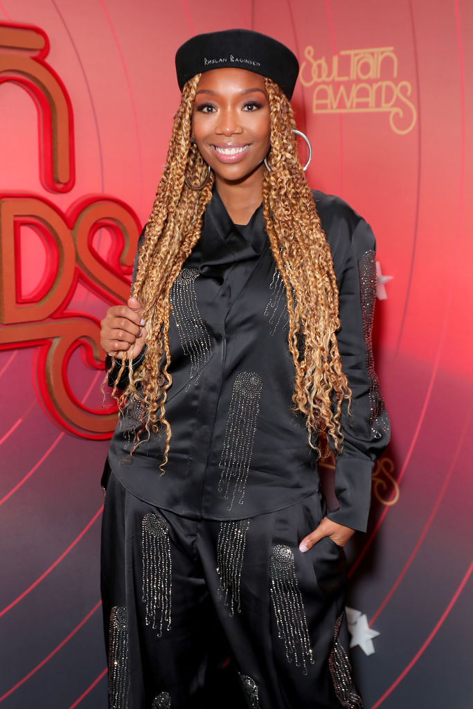 BRANDY NORWOOD AT THE SOUL TRAIN MUSIC AWARDS, 2020