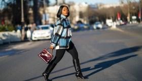 Fashion Photo Session In Paris - January 2021