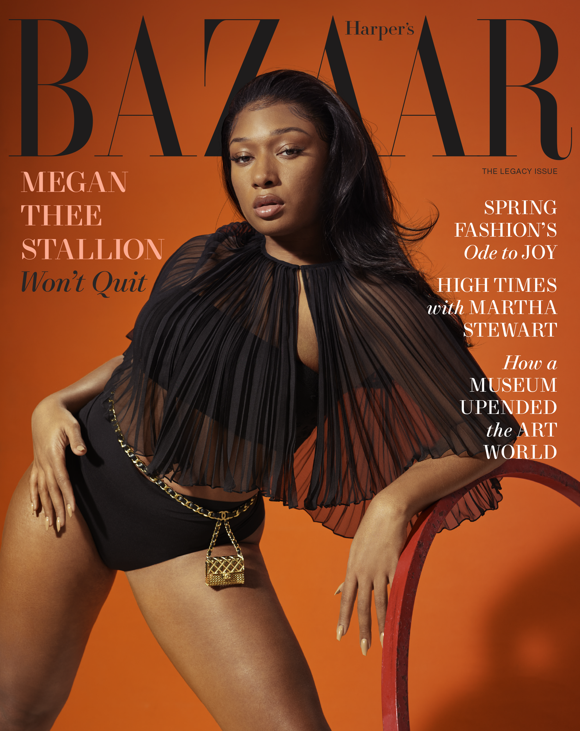 Megan Thee Stallion Harper's Bazaar
