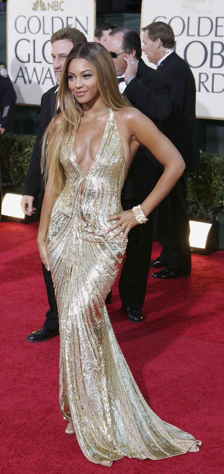 BEYONCE AT THE 64TH ANNUAL GOLDEN GLOBE AWARDS, 2007