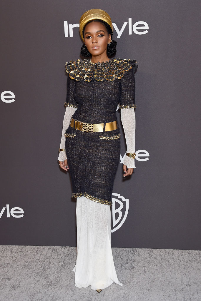 JANELLE MONAE AT THE INSTYLE AND WARNER BROS GOLDEN GLOBES AFTER PARTY, 2019