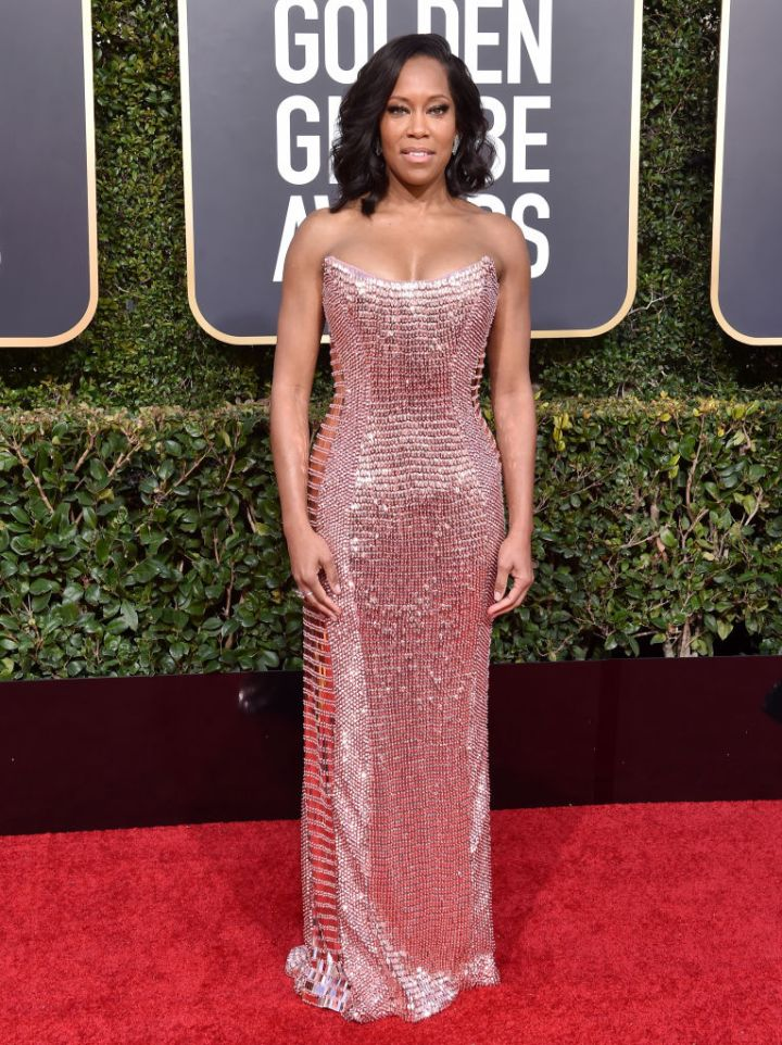 REGINA KING AT THE 76TH ANNUAL GOLDEN GLOBE AWARDS, 2019