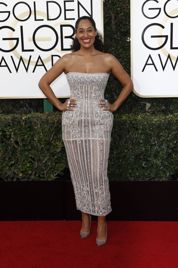 TRACEE ELLIS ROSS AT THE 74TH ANNUAL GOLDEN GLOBE AWARDS, 2017