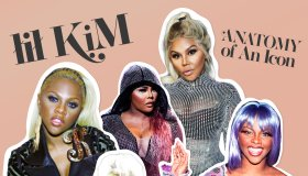 Lil' Kim Fashion Issue Cover