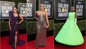 Golden Globes Gowns