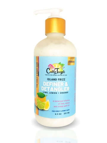 Curly Temple Island Frizz Definer and Detangler
