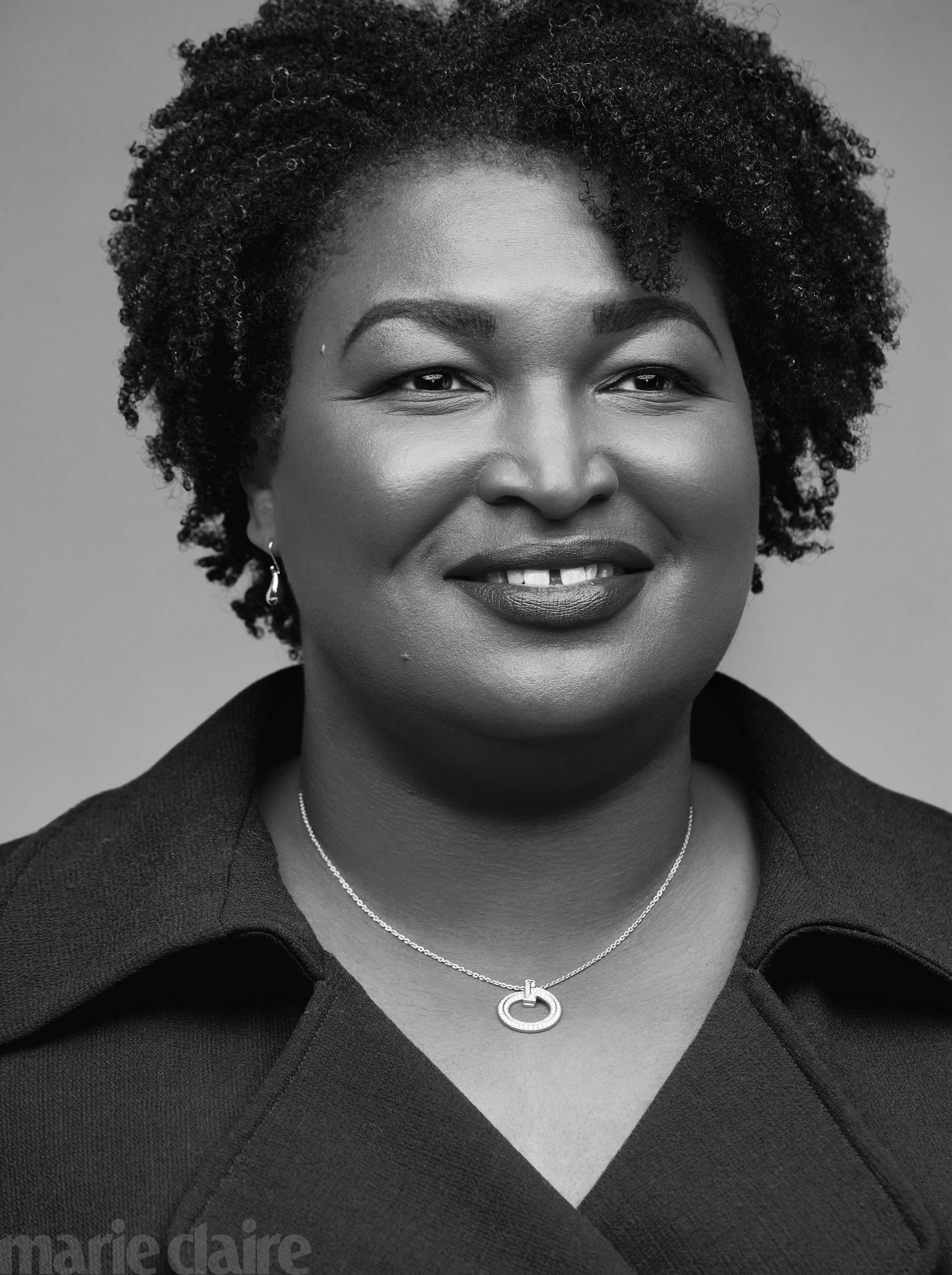 Stacey Abrams for Marie Claire