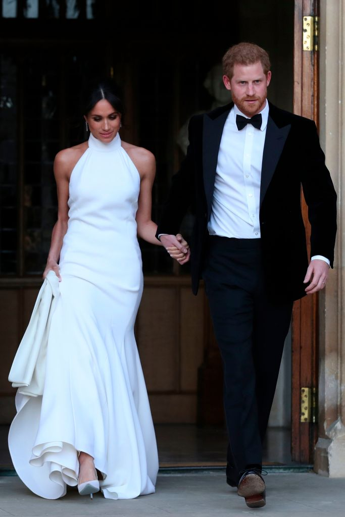 Meghan Markle Stuns In White