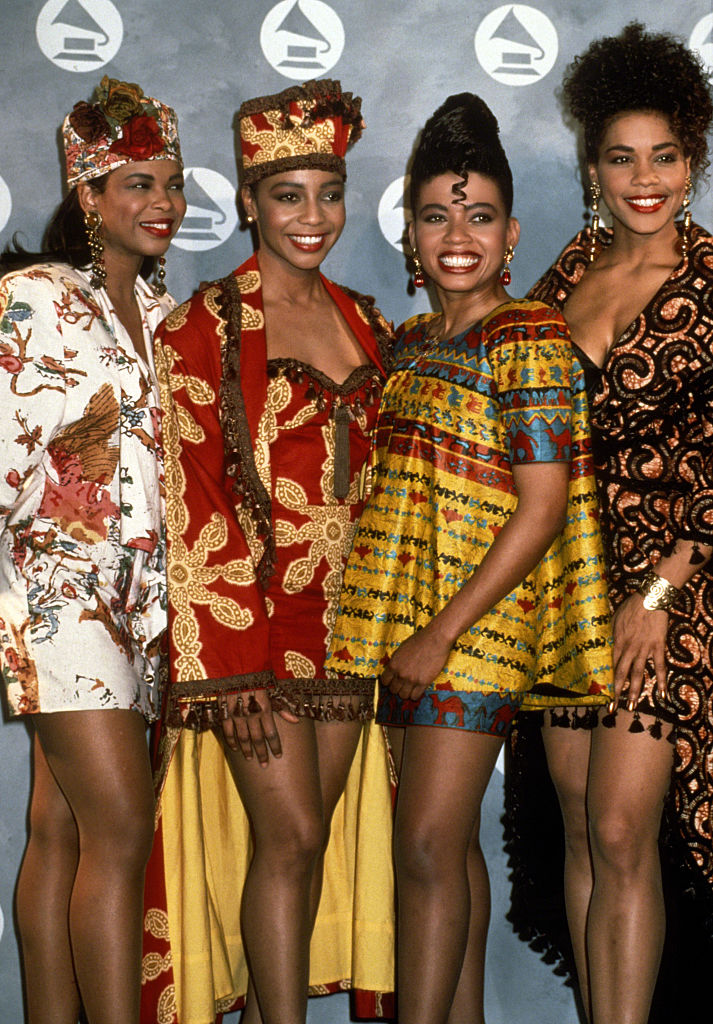EN VOGUE AT THE 33RD ANNUAL GRAMMY AWARDS, 1991