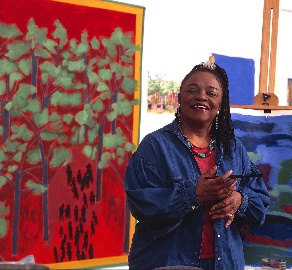 Portrait Of Artist Faith Ringgold