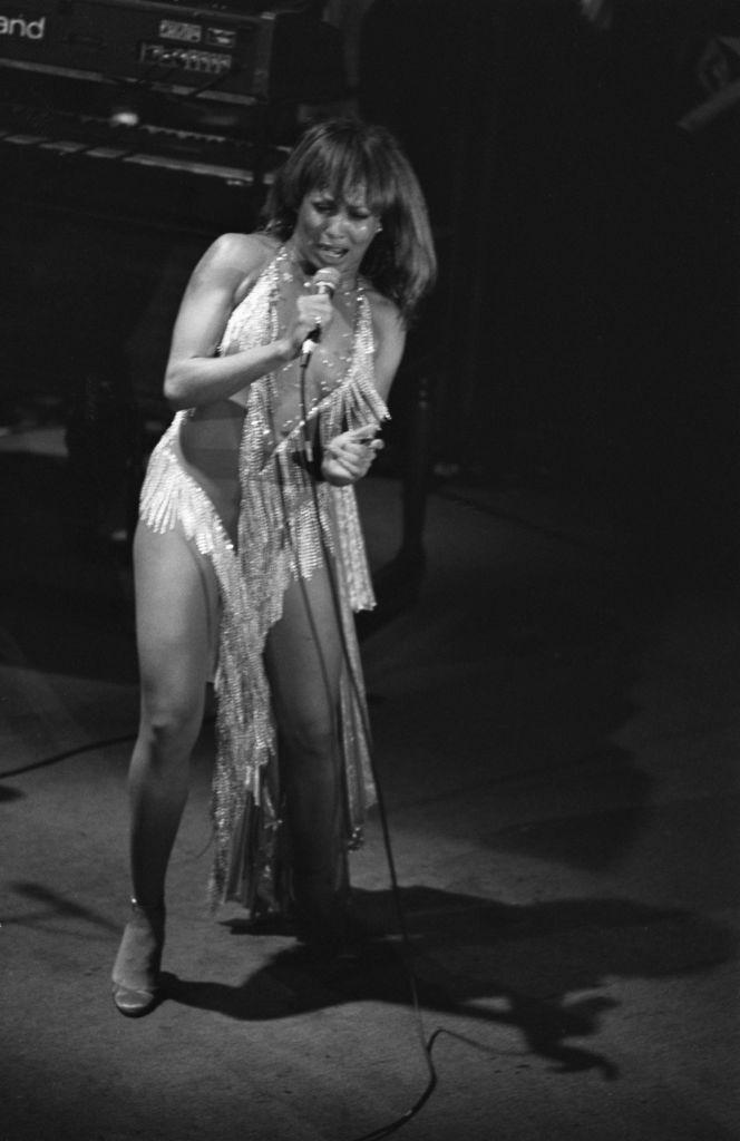 Tina Turner at the Ritz Carlton Hotel in 1981