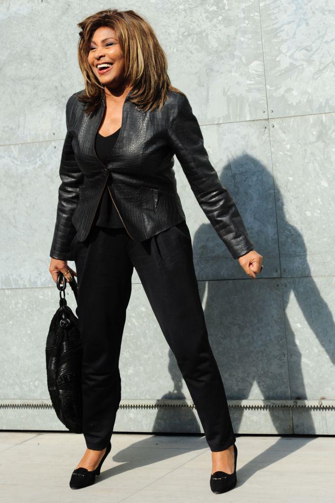 Tina Turner At Milan Fashion Week