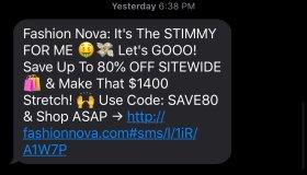FashionNova Promotion