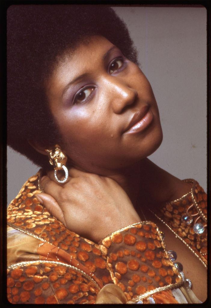 Portrait Of Aretha Franklin