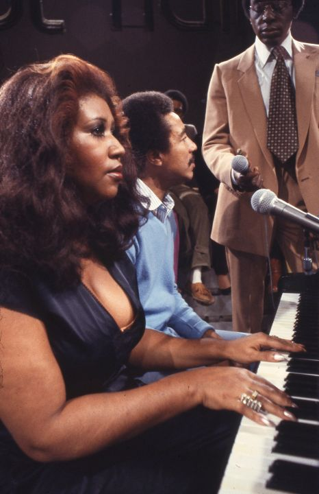 ARETHA FRANKLIN AND SMOKEY ROBINSON, 1979