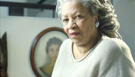 Toni Morrison Poses In Manhattan Apartment