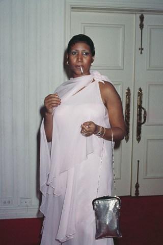 Aretha Franklin's 35th Birthday Party