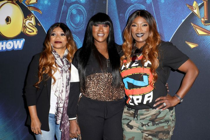 "SWV AT THE GRAND OPENING OF ""SALT-N-PEPA'S I LOVE THE '90s - THE VEGAS SHOW"" RESIDENCY, 2018"