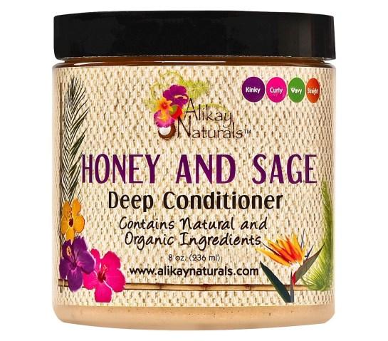 Alikay Naturals Honey and Sage Deep Conditioner