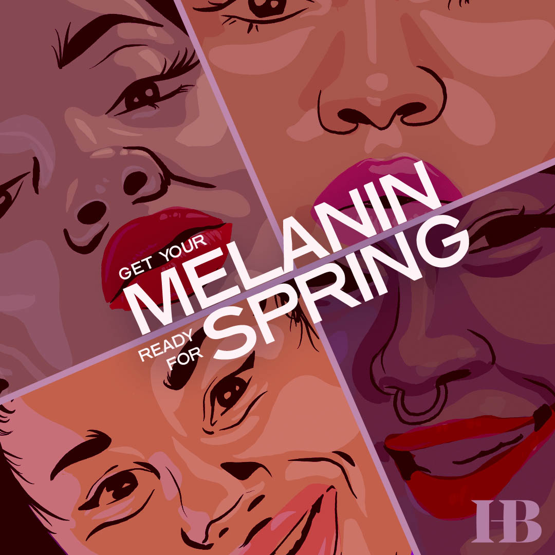 Melanin For Spring Graphic