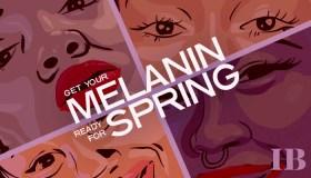 Melanin For Spring Graphic