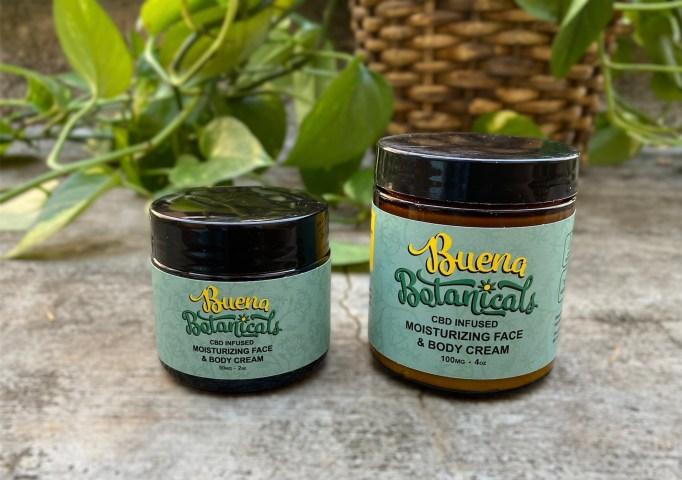 Buena Botanicals Moisturizing Face & Body Cream