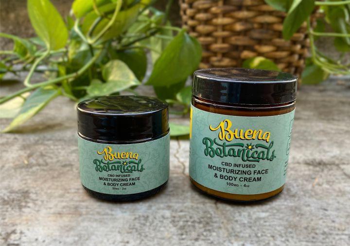 Buena Botanicals Moisturizing Face Body Cream